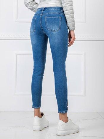Niebieskie jeansy Amy