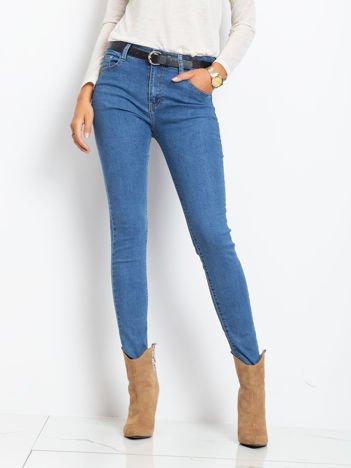 Niebieskie jeansy Bedrock