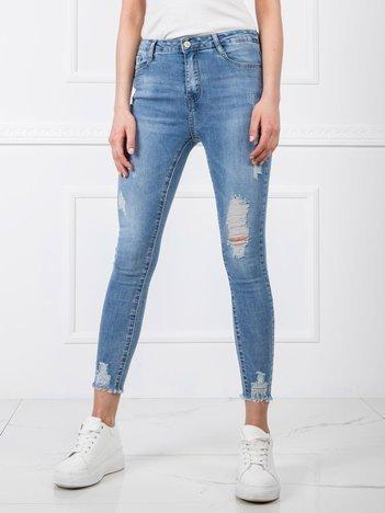 Niebieskie jeansy Catherina