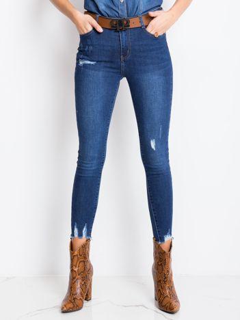 Niebieskie jeansy Desire