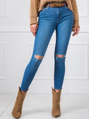 Niebieskie jeansy Elisa RUE PARIS