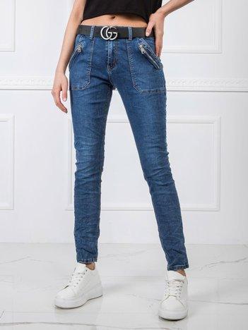 Niebieskie jeansy Etta