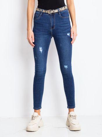 Niebieskie jeansy Guest
