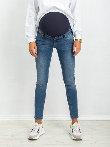 Niebieskie jeansy Lacy