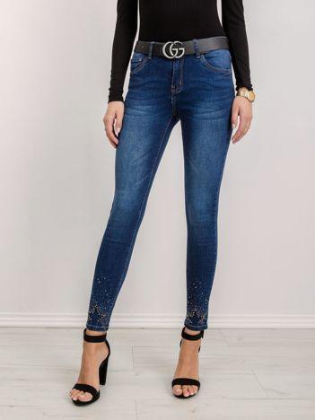 Niebieskie jeansy Option