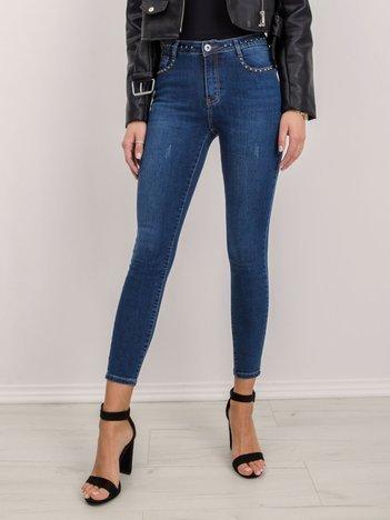 Niebieskie jeansy Sammie