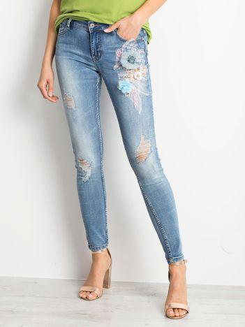 Niebieskie jeansy Versatile