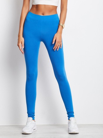 Niebieskie legginsy Basic