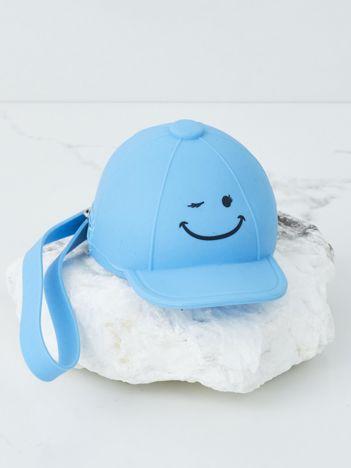 Niebieskie silikonowe etui