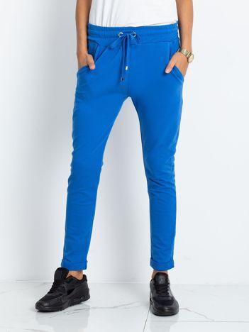 Niebieskie spodnie Cadence