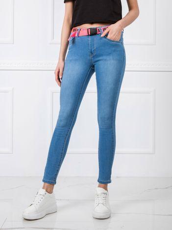 Niebieskie spodnie Dakota