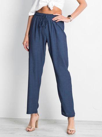 Niebieskie spodnie Inability