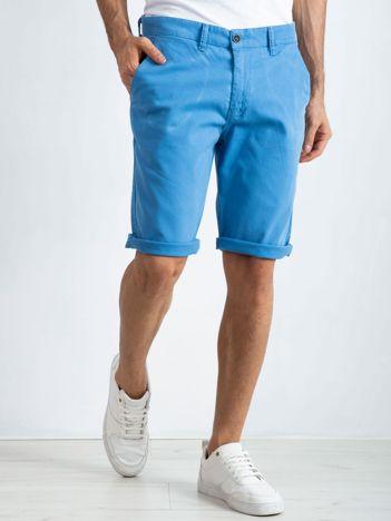 Niebieskie szorty męskie International