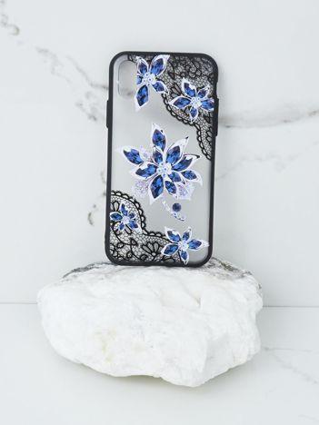 Niebiesko-czarne etui do iPhone X