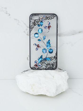 Niebiesko-czarne etui iPhone 7 Plus iPhone 8 Plus