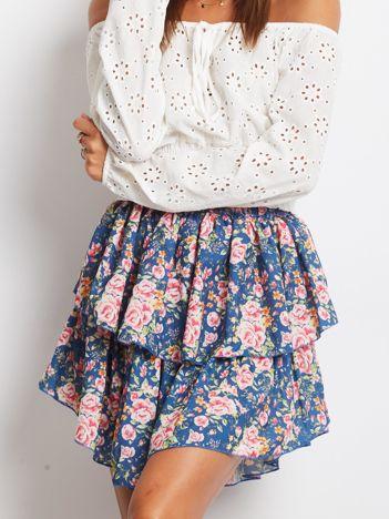 Niebiesko-różowa spódnica Masterpiece