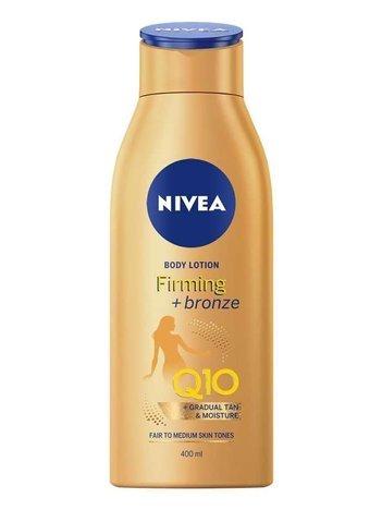 Nivea Body Q10  Balsam do ciała brązujący ujędrniający Firming+Bronze 400 ml
