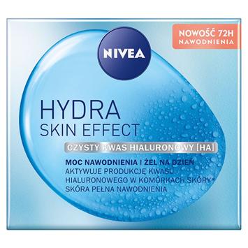 """Nivea Hydra Skin Effect Żel do twarzy na dzień- Moc Nawodnienia 50ml"""""""