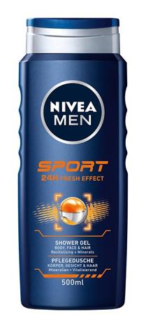 Nivea Men Żel pod prysznic Sport 24H Fresh Effect  500 ml