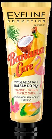 Nowość! EVELINE BANANOWY WYGŁADZAJĄCY BALSAM DO RĄK Banana Care 50 ML