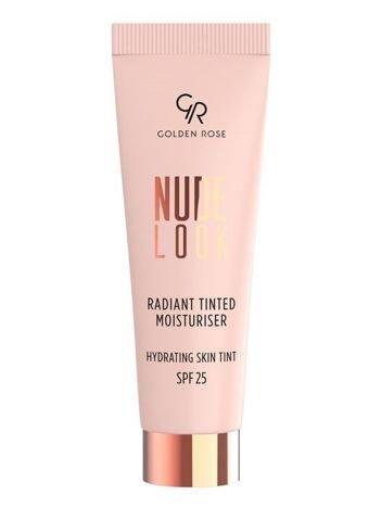 Nowość! GOLDEN ROSE Nude Look Koloryzujący krem z efektem rozświetlenia nr 03 Deep Tint  32 ml