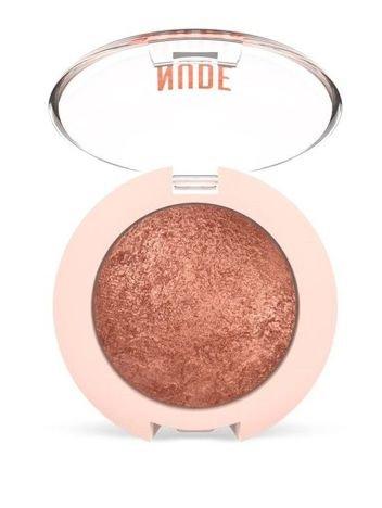 Nowość! GOLDEN ROSE Nude Look Perłowy cień do powiek nr 02 Rosy Bronze 2,5 g