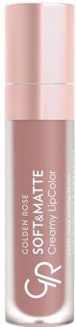 Nowość!!! GOLDEN ROSE Soft & Matte Creamy Lip Color matowa pomadka 104 5,5 ml