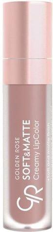 Nowość!!! GOLDEN ROSE Soft & Matte Creamy Lip Color matowa pomadka 106 5,5 ml