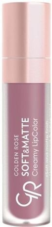 Nowość!!! GOLDEN ROSE Soft & Matte Creamy Lip Color matowa pomadka 110 5,5 ml