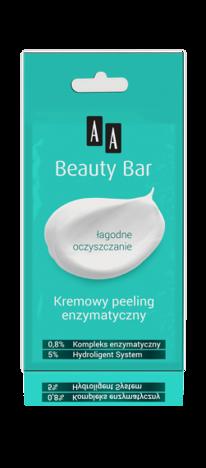 OCEANIC AA BEAUTY BAR Kremowy peeling enzymatyczny 8 ml