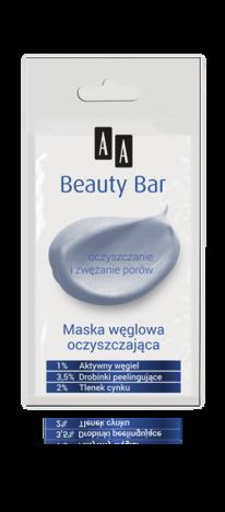 OCEANIC AA BEAUTY BAR Maska węglowa oczyszczająca 8 ml
