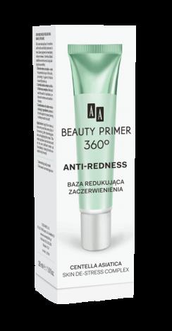 OCEANIC AA BEAUTY PRIMER 360⁰ Anti-redness Baza redukująca zaczerwienienia 30 ml