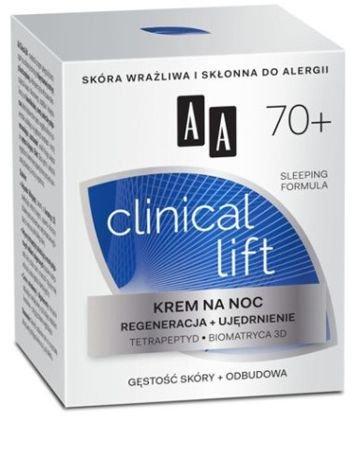 OCEANIC AA CLINICAL LIFT 70+ Krem na noc regeneracja + ujędrnienie 50 ml