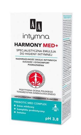 OCEANIC AA INTYMNA MED Harmony pH 3,8 Specjalistyczna emulsja do higieny intymnej - dozownik 300 ml