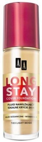 OCEANIC AA LONG STAY COVER FOUNDATION Podkład nawilżający 103 light beige 35 ml