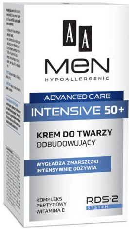 OCEANIC AA MEN ADVANCED CARE INTENSIVE 50+ Krem do twarzy odbudowujący 50 ml