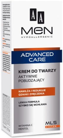 OCEANIC AA MEN ADVANCED CARE Krem do twarzy aktywnie pobudzający 75 ml
