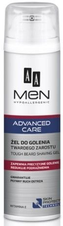 OCEANIC AA MEN ADVANCED CARE Żel do golenia twardego zarostu 200 ml