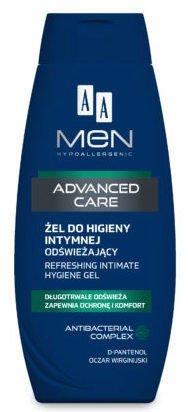 OCEANIC AA MEN ADVANCED CARE Żel do higieny intymnej odświeżający 250 ml