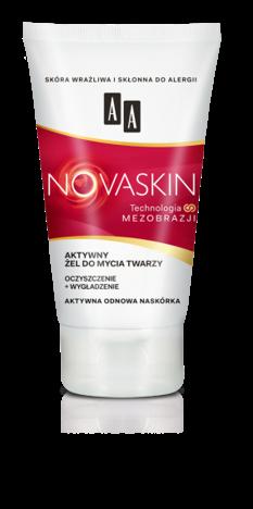 OCEANIC AA NOVASKIN żel do mycia twarzy oczyszczenie+wygładzenie 150 ml