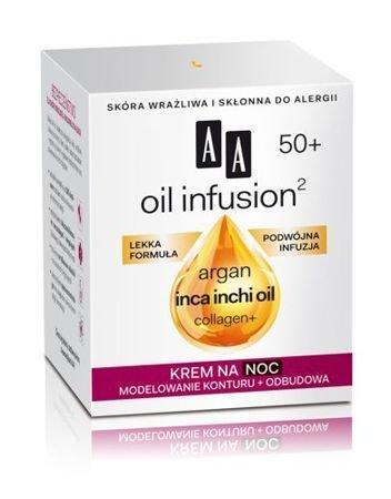 OCEANIC AA OIL INFUSION² 50+ Krem na noc modelowanie konturu + odbudowa 50 ml