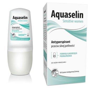 OCEANIC AQUASELIN Sensitive Women Antyperspirant przeciw silnej potliwości 50 ml