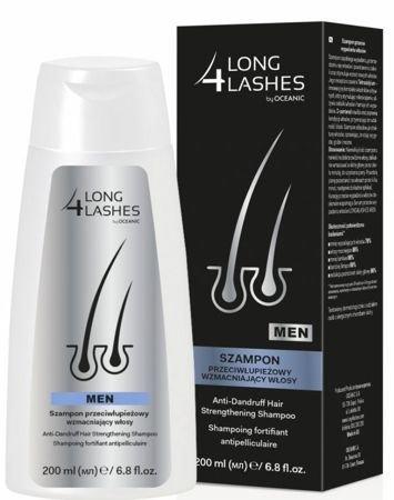 OCEANIC Long4Lashes MEN Szampon przeciwłupieżowy wzmacniający włosy 200 ml