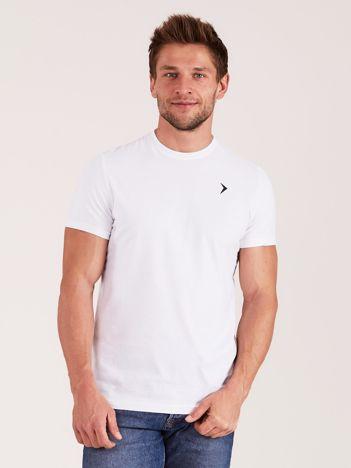 OUTHORN Biały t-shirt męski
