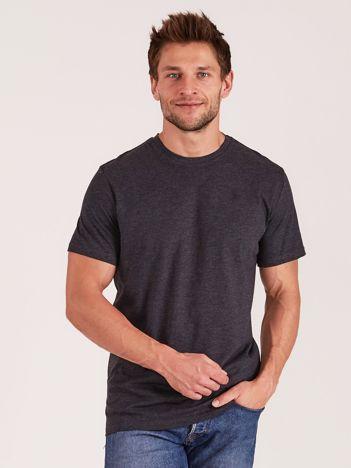 OUTHORN Ciemnoszary t-shirt męski