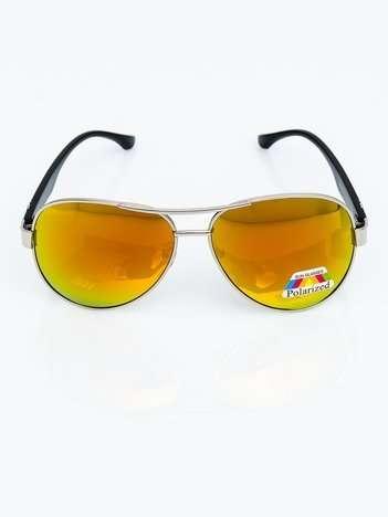 Okulary POLARYZACYJNE przeciwsłoneczne PILOTKI