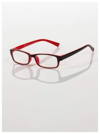 Okulary korekcyjne dwukolorowe do czytania +1.5 D