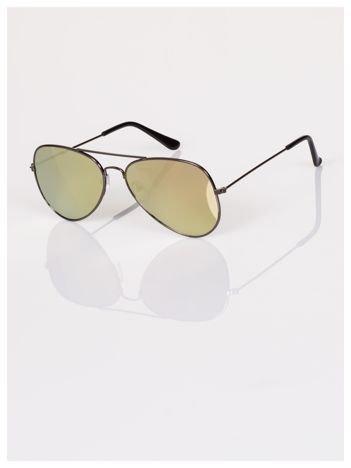 Okulary przeciwsłoneczne AVIATOR pilotki lustrzanki zawsze na czasie  !