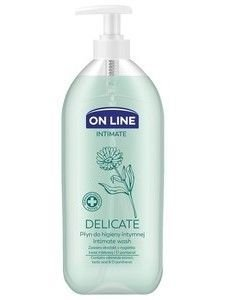 On Line Intimate Płyn do higieny intymnej Delicate z nagietkiem  500 ml