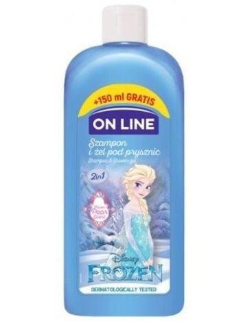 On Line Kids Disney Szampon i żel pod prysznic 2w1 Frozen  400 ml